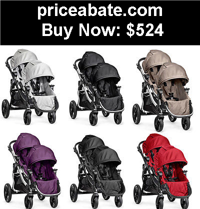 Baby Brand New Baby Jogger City Select Stroller Double