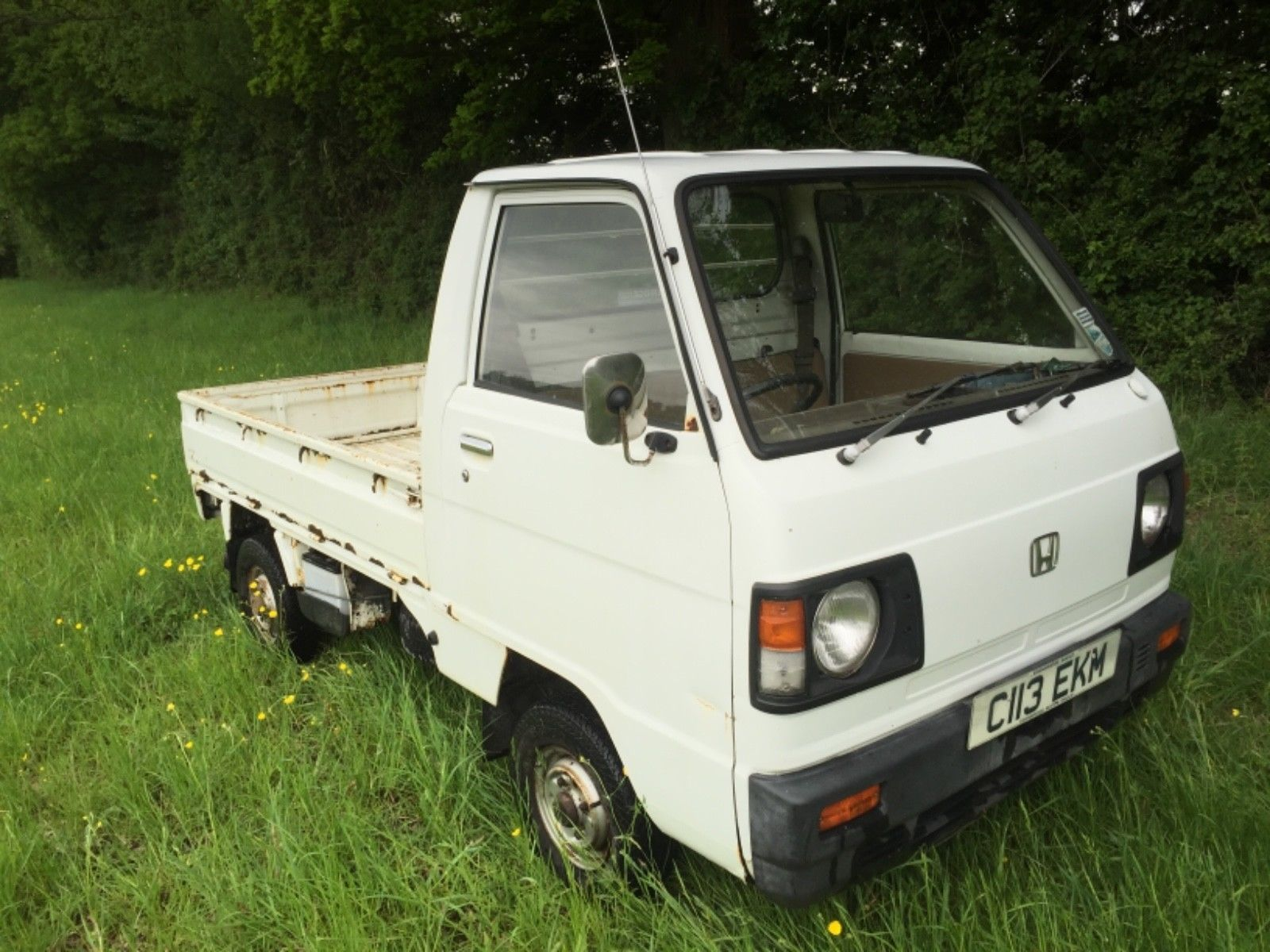 Ebay Honda Acty Mini Truck Kei Vehicle Clic Van Cliccars Cars