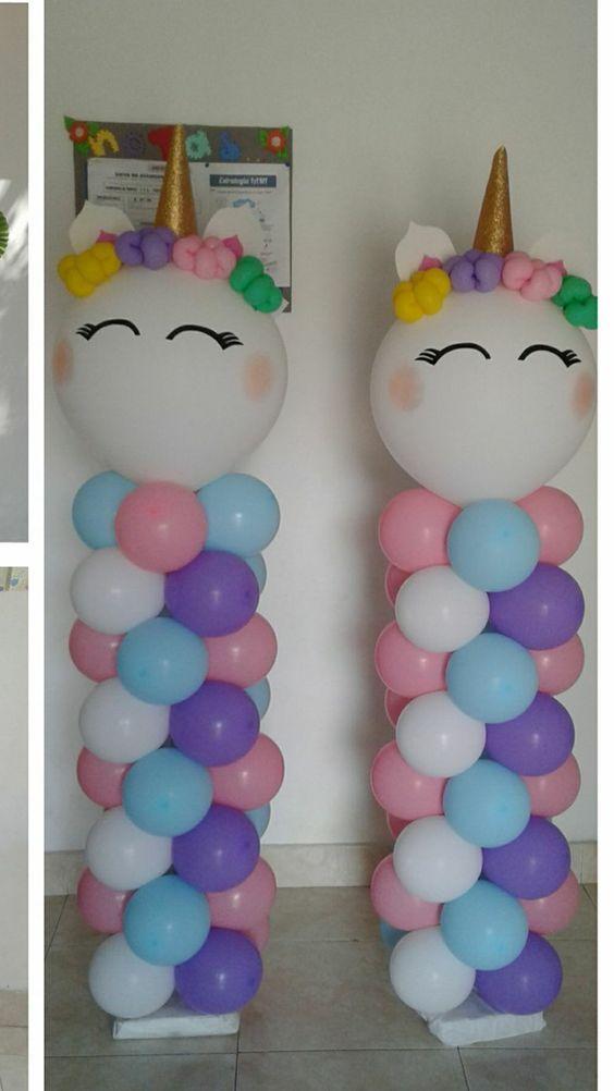 DIY Birthday Decorations for Girls Tween – Balloon Columns