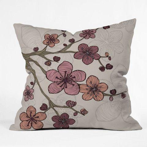 Valentina Ramos Blossom Throw Pillow