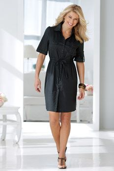 Drawstring Shirtdress  (Come on get your gift swim suits and dresses at swimsuit for women) womensqualityswimwears.blogspot.com