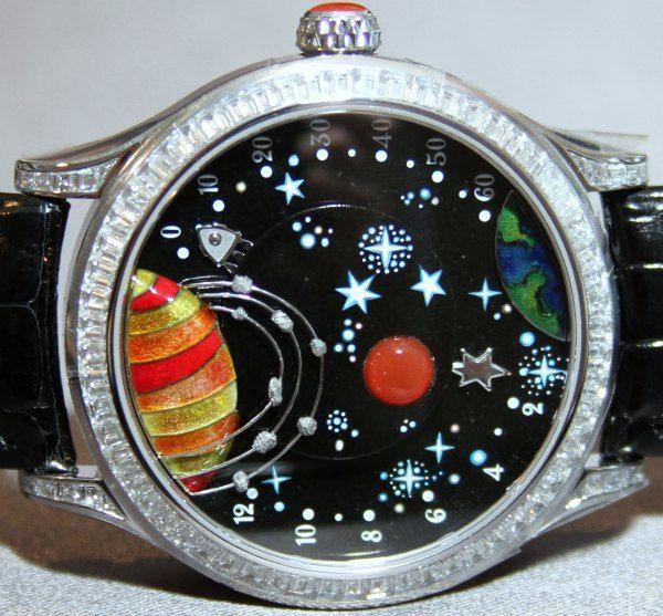 Van Cleef & Arpels Jules Verne Les Voyages Watches   watch releases