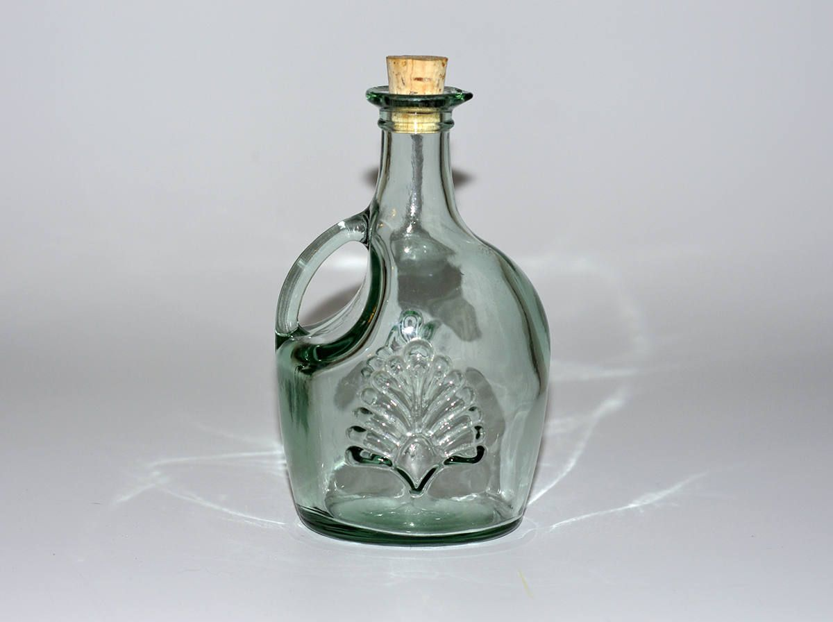 Vintage,Green Glass Jug,Green Bottle,Canada Bottle,Glass Bottle with ...