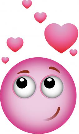 amour rose sticker smiley rose d 39 amour rose pink rosa pinterest cahier de vie. Black Bedroom Furniture Sets. Home Design Ideas