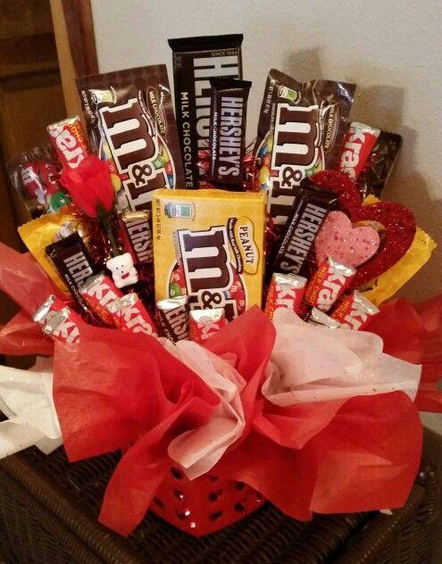Valentines Chocolate Basket Calico Goose Pinterest Chocolate