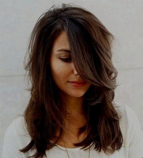 Coupe Tendance 2018 Cheveux Mi Long Coiffures En 2019 Curly Hair