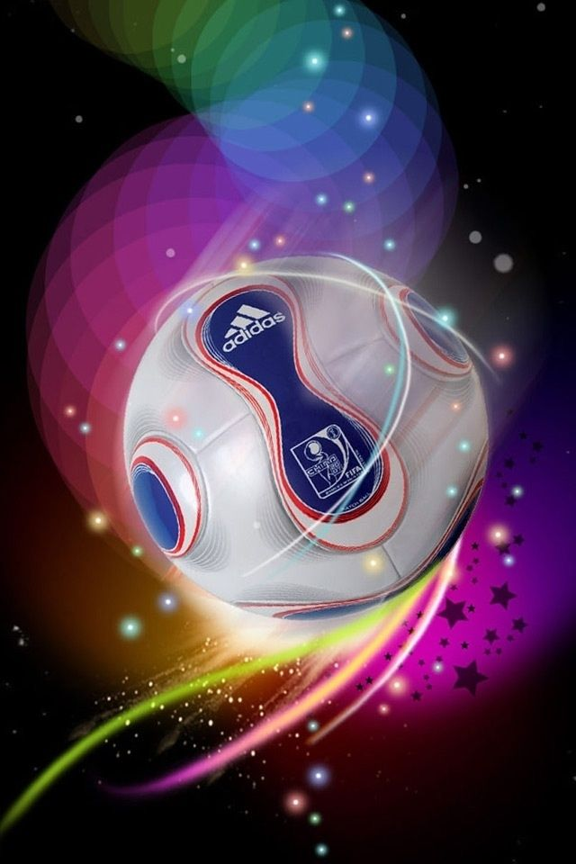 Colorful Adidas Football Ipod Touch Wallpapers Free 640x960 Nice Hd Iphone 4 Background Soccer Soccer Ball Football Pitch