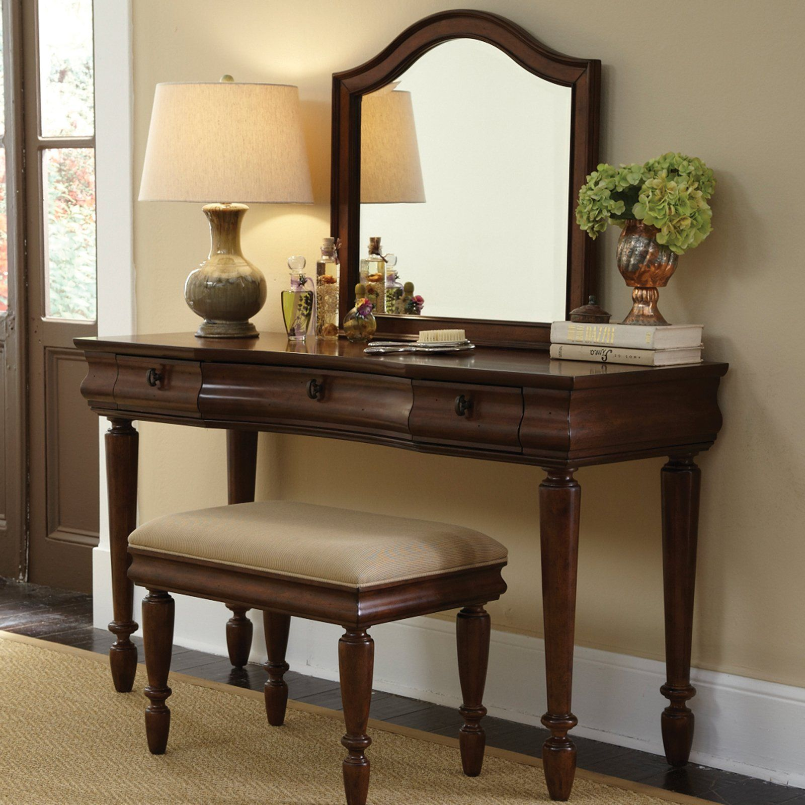 Have to have it. Rustic Traditions Bedroom Vanity Set