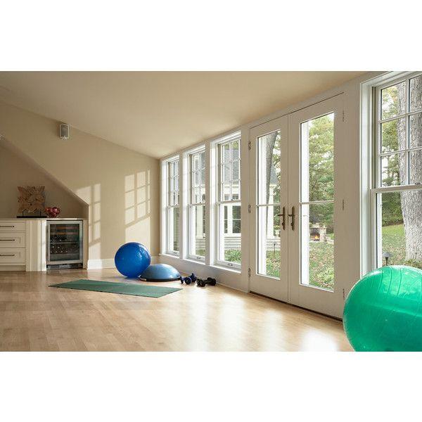 Home Basement Gymnasium And Dance Studio