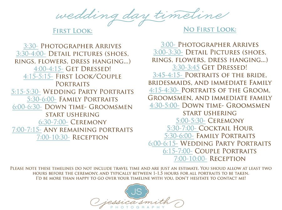 Make your wedding day timeline as detailed as possible Ensure you - marketing timeline template