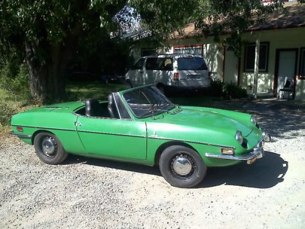 Slow But Fun 1972 Fiat 850 Sport Spider With Images Fiat 850