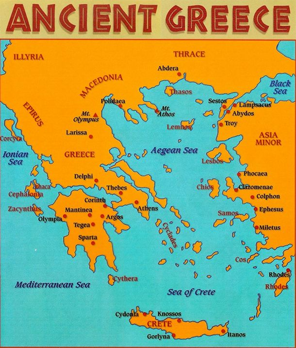 Ancient greek map europe pinterest ancient greek map gumiabroncs Images