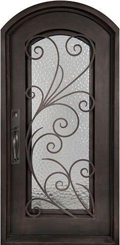 40x98 Summer Breeze Iron Door. Beautiful Wrought Iron Front Entry Door With  Grille From Door Clearance Center.