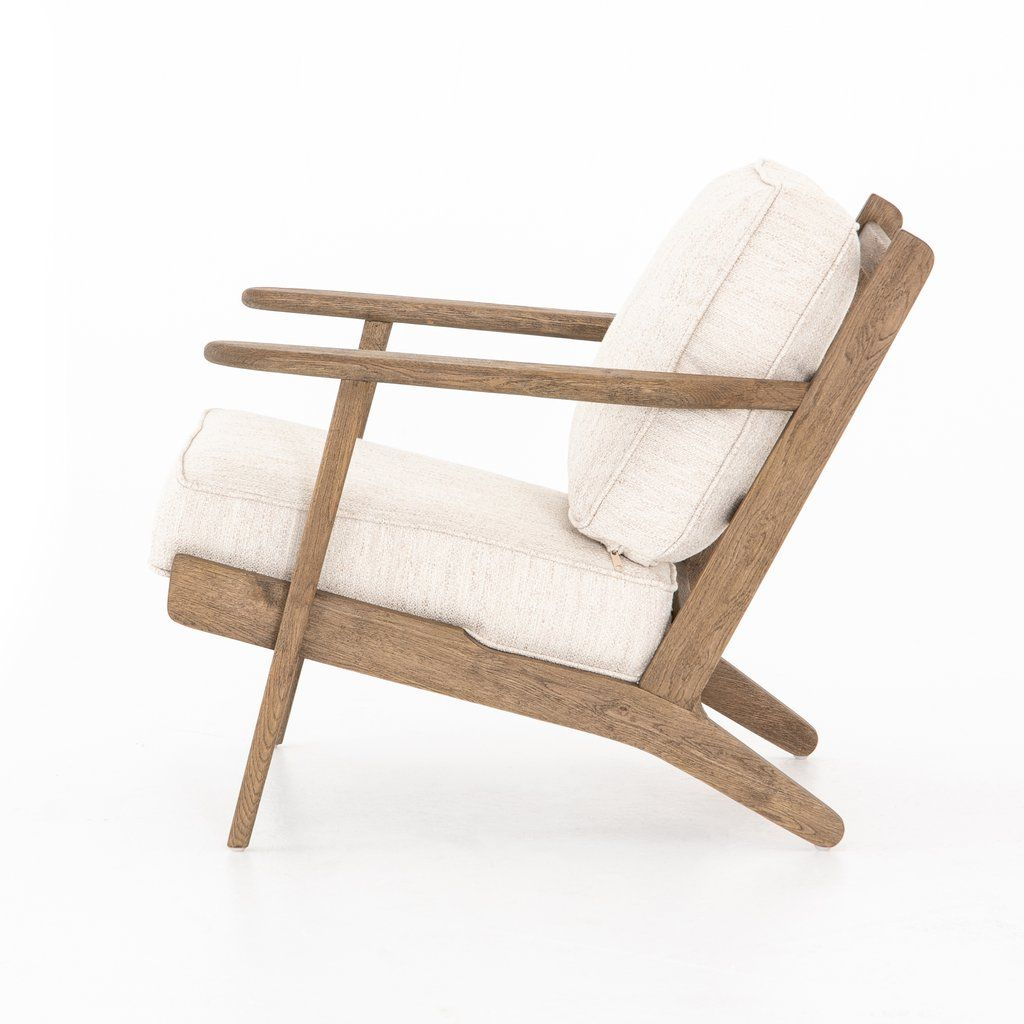 Brooks Lounge Chair In Avant Natural Accent Chairs For Living Room Lounge Chairs Living Room Comfortable Dining Chairs