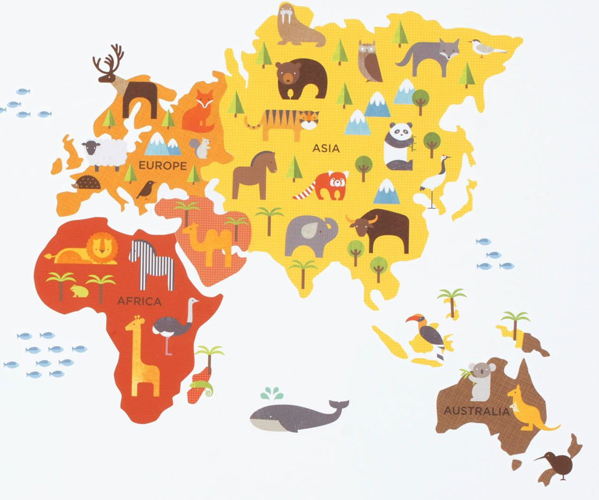 world map - Поиск в Google | *_baby_* | Pinterest | Toddler rooms ...