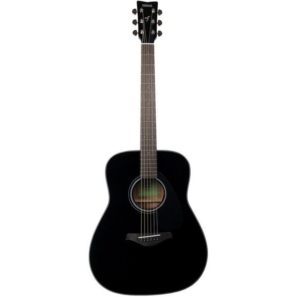 Yamaha Fg800 Solid Top Dreadnought Acoustic Guitar Black Musical 200 Liked On Polyvore Featuring Filler And Guitar Yamaha Fg800 Guitar Acoustic