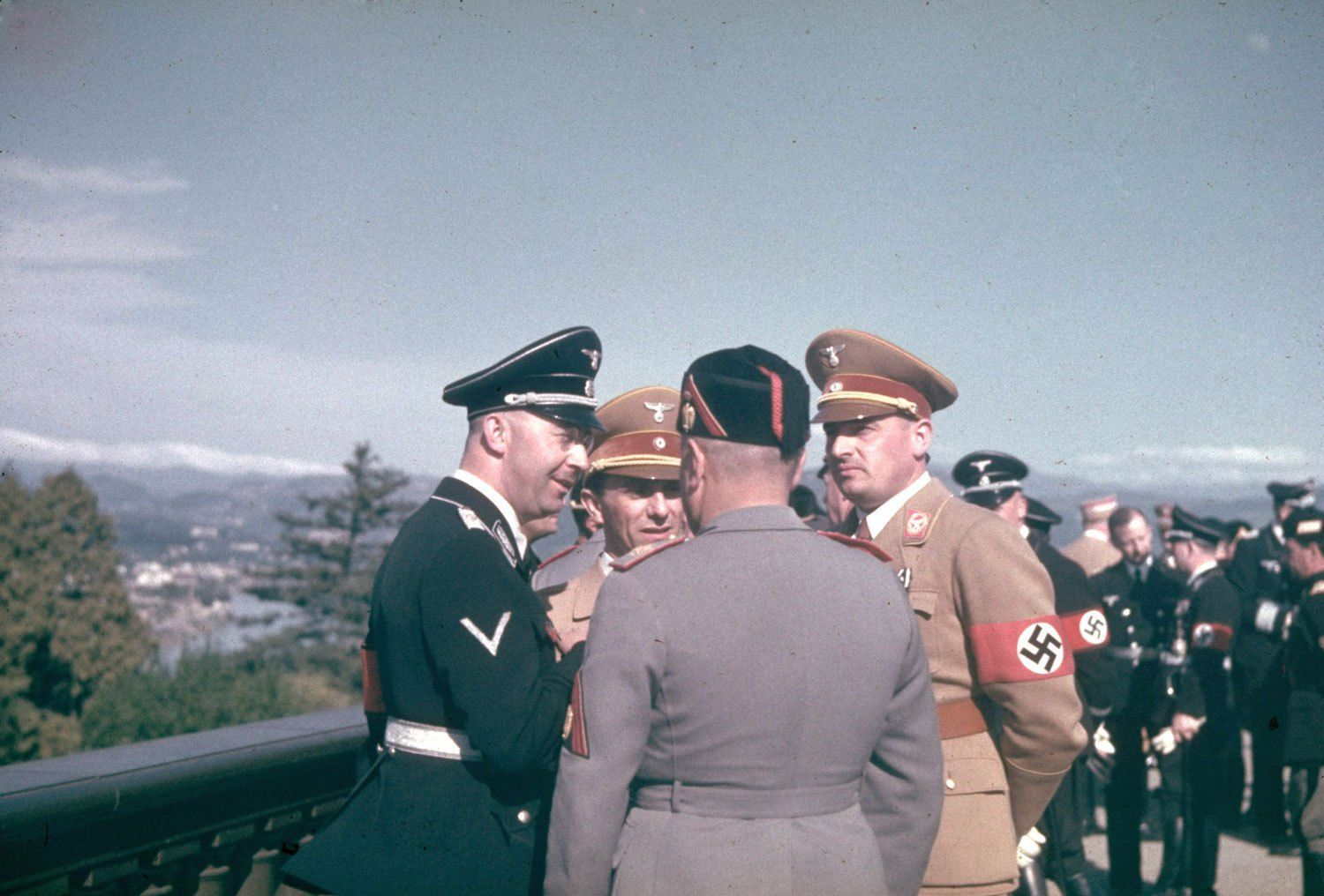 Hitler and Mussolini: Color Photos of Chummy Warmongers | LIFE.com