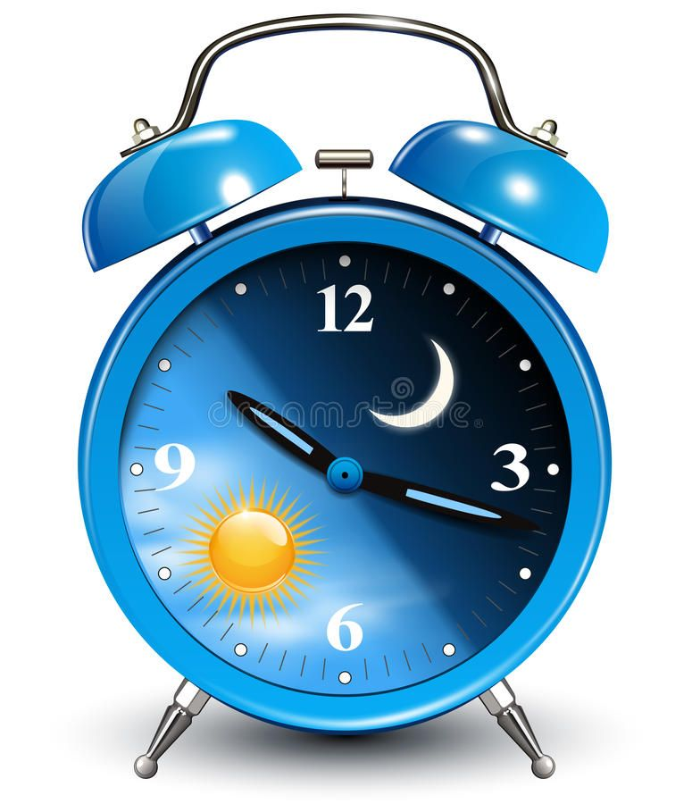 Alarm Clock Day And Night Cycle Vector Illustration Aff Day Clock Alarm Night Illustration Ad Alarm Clock Clock Clock Art