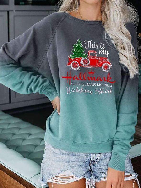Hallmark sweatshirt-1014-1