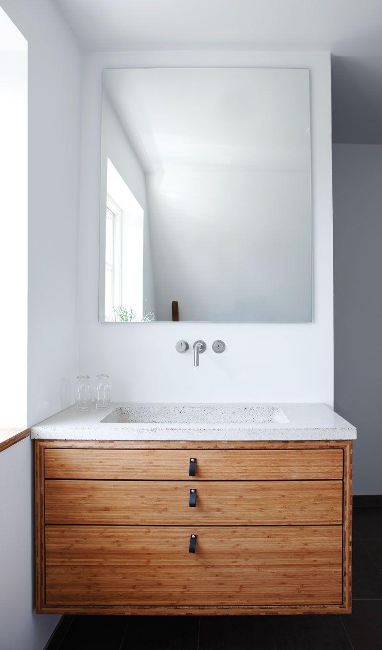 bambus terrazzo haandvask | places: bath revision | Pinterest ...