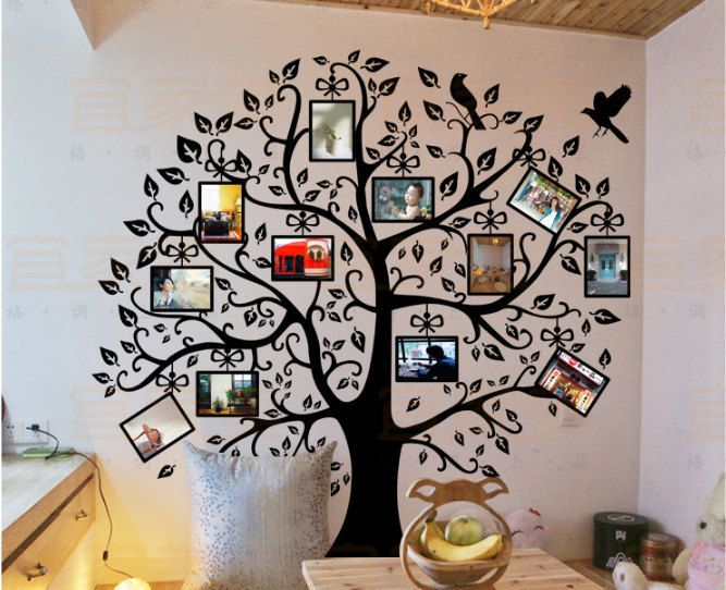 Family Tree Picture Frame in Picture Frames. This big Photo Frame ...
