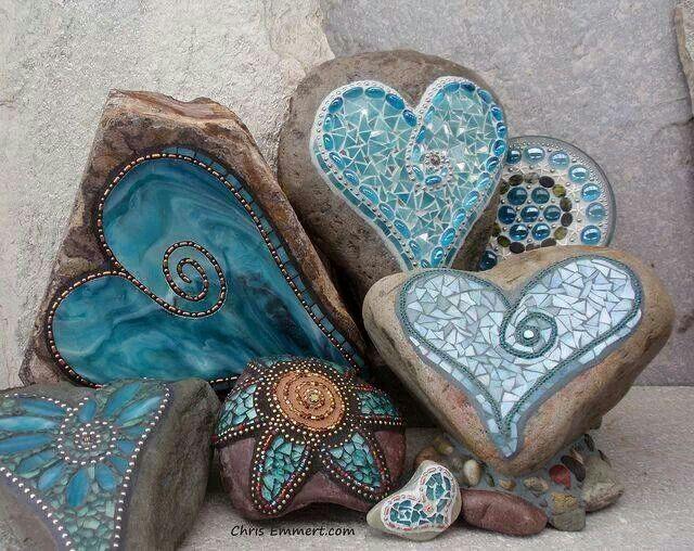 Mosaic rocks ...