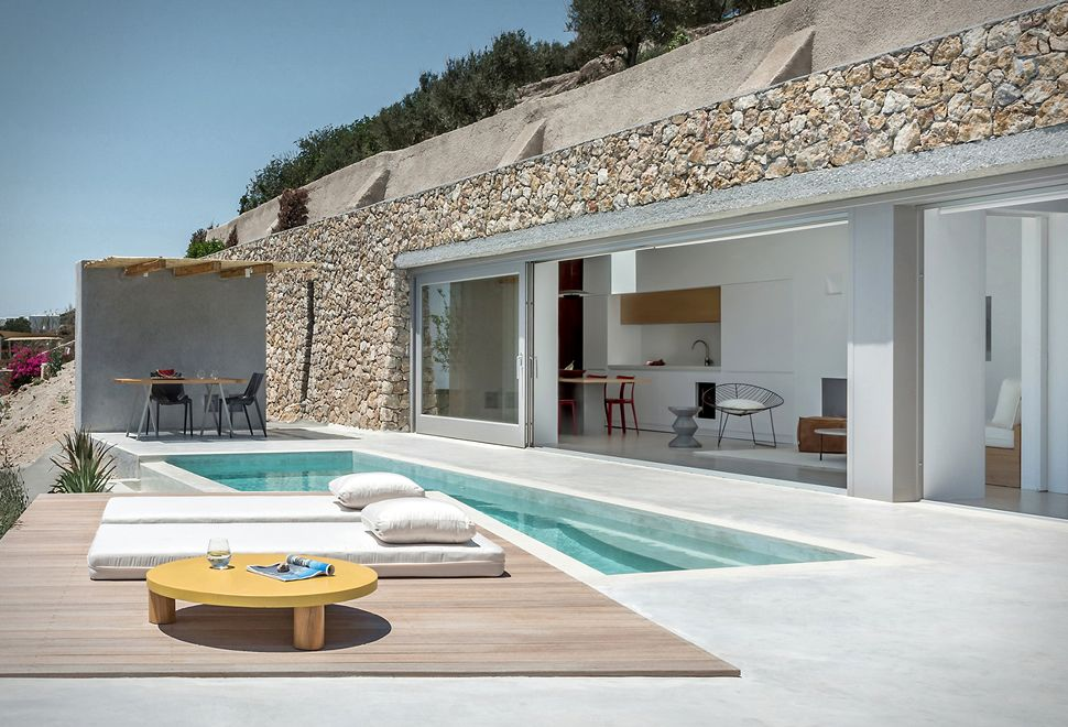 SANTORINI CAVE HOUSE This spectacular holiday house