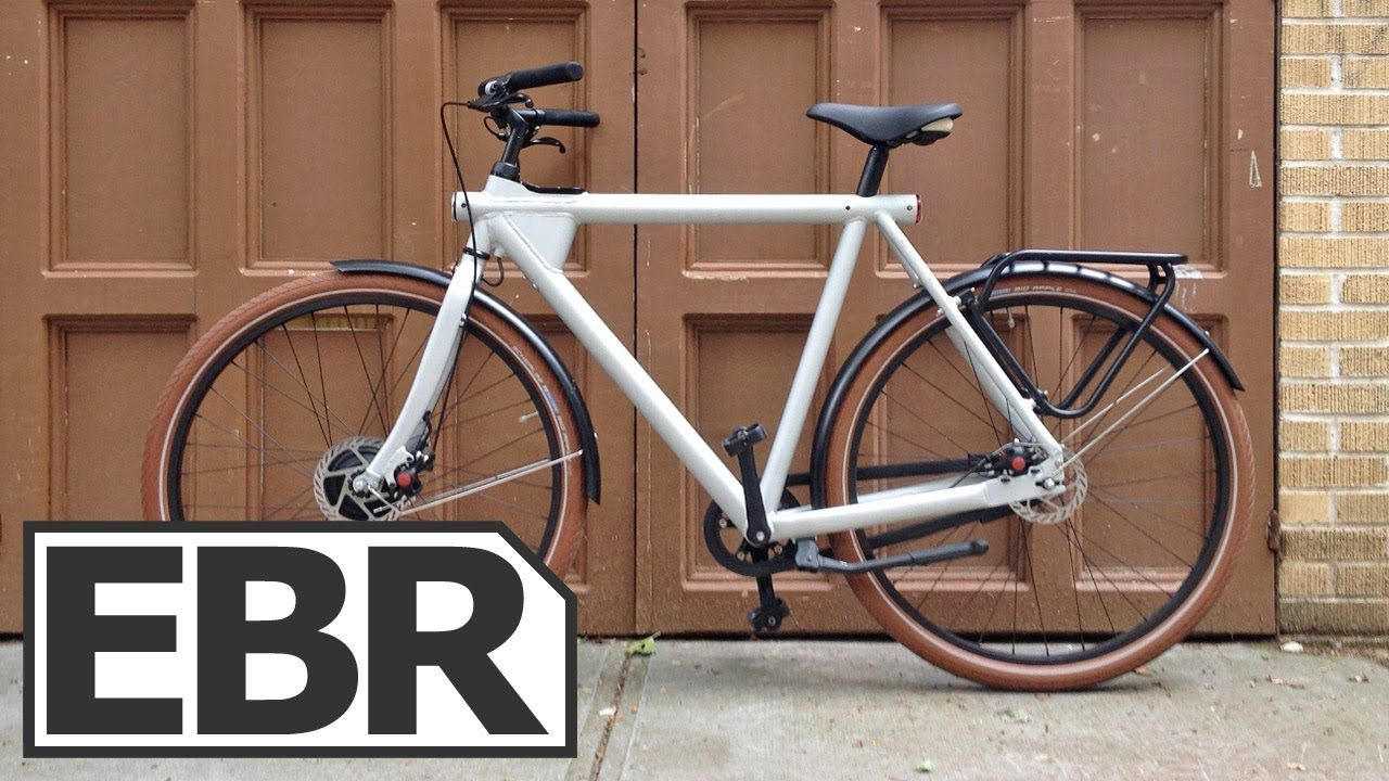 Vanmoof Electrified 3 Video Review Elegant City Style Electric Bike M