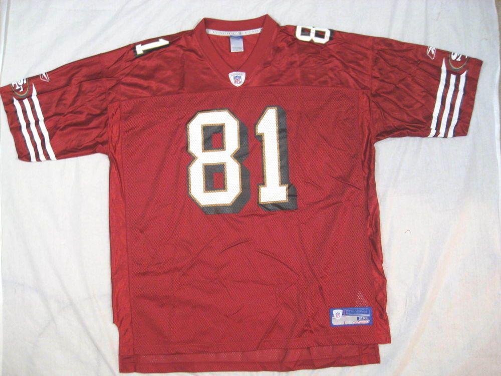46bf8430b Vintage San Francisco 49ers Terrell Owens #81 Reebok XXL On Field Jersey NFL  #Reebok #SanFrancisco49ers