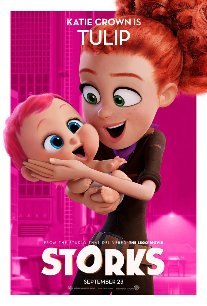 Meet The Cast And Characters Of Storks