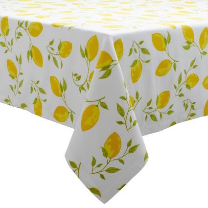 Superieur Lemon Tablecloth, Available At #surlatable