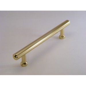 134mm In Length Polished Brass Cabinet Bar Handle £4.99 The Handle ...