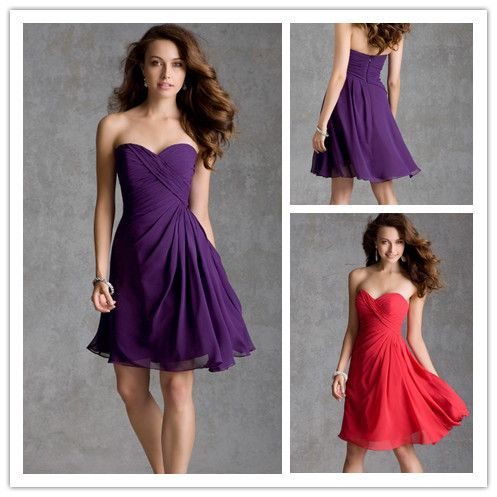 short purple bridesmaid dresses under 100 | Gommap Blog