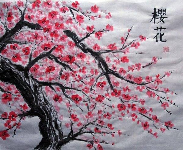 Superieur Japanese Cherry Blossoms, Cherry Blossom Tree, Blossom Trees, Cherry Blossom  Wallpaper, Tree Paintings, Cherries, Japanese Artwork, Japanese Gardens, ...