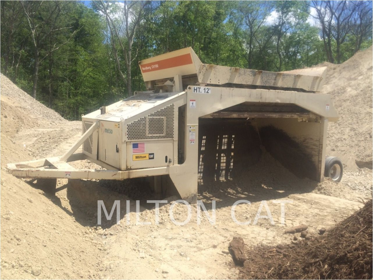 2014 METSO CV100 Screen for sale Milton CAT Milford, MA