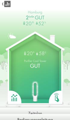 Dyson Pure Cool Link Tower im Test: Luftreinigung und Kühlung in einem-wirksam gegen Pollen und Gerüche?  http://www.mihaela-testfamily.de  #Dyson #haushalt #Home #Technik #Luftfilter #Cooling #PureCoolLinkTower