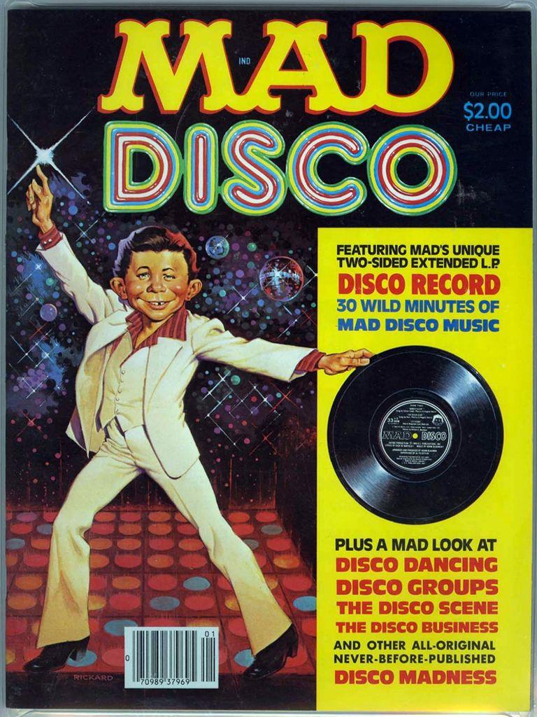 Night Book Cover Ideas : Mad magazine — disco issue saturday night fever
