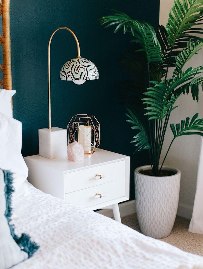 ▷ 1001 + idées pour choisir une couleur chambre adulte Bedrooms - Peindre Table De Chevet