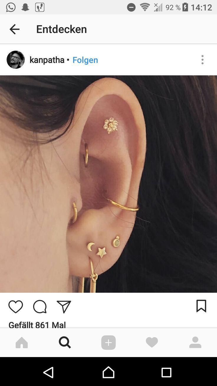 :;: Alice;:; - #Alice   - Ohr piercings ideen - #Alice #Ideen #Ohr #Piercings #earpiercingideas