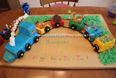 Incredible Coolest Train Birthday Cake Design Cake Designs Birthday Train Funny Birthday Cards Online Fluifree Goldxyz