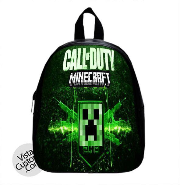 1f0ddddd6a9 MINECRAFT Call of duty New Hot School Bag Backpack   School Bag ...