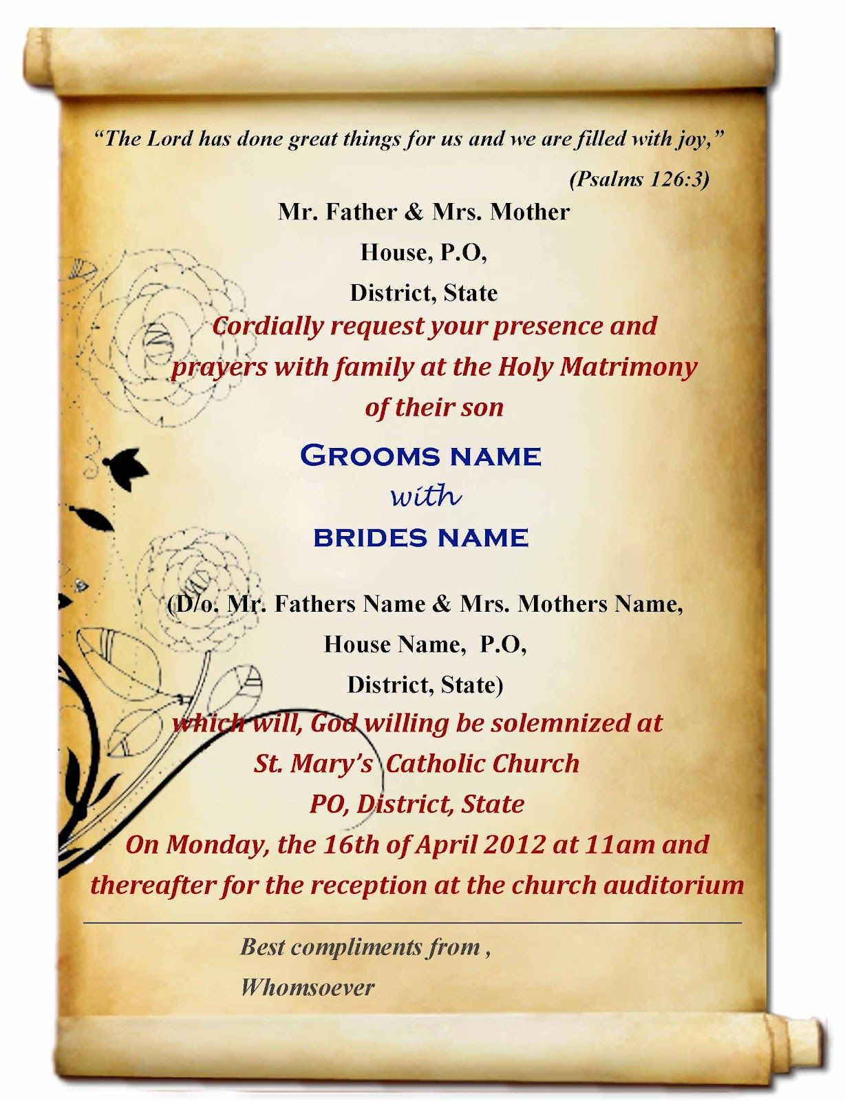 Indianweddinginvitationcardstemplatesfreedownload - Wedding invitation templates free online