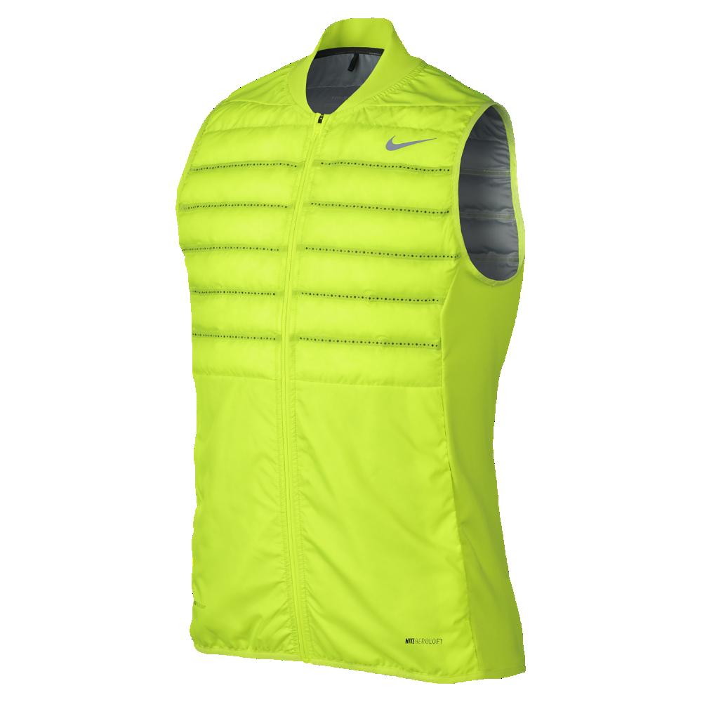 Nike AeroLoft Men s Golf Vest Size Medium (Yellow) - Clearance Sale ... abcd843c4