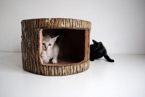 Log House por SAYSCULPTURES en Etsy