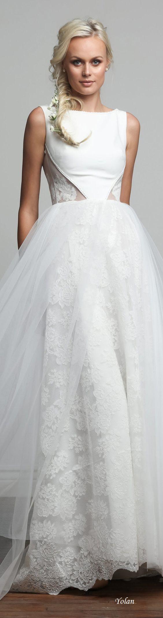 bridal barbara kavchok elegancia en blanco pinterest