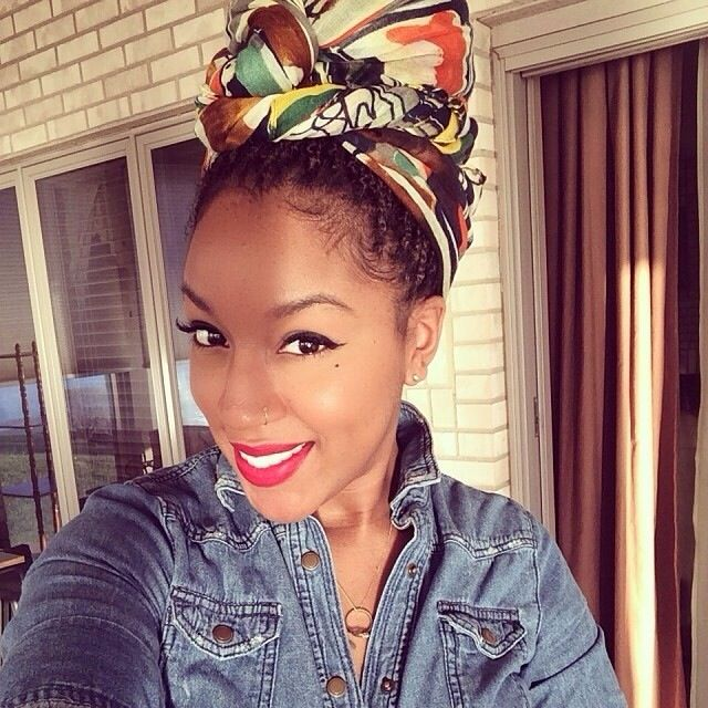 ***Try Hair Trigger Growth Elixir*** ========================= {Grow Lust Worthy Hair FASTER Naturally with Hair Trigger} ========================= Go To: www.HairTriggerr.com =========================     Pretty Pin Up Scarf Look