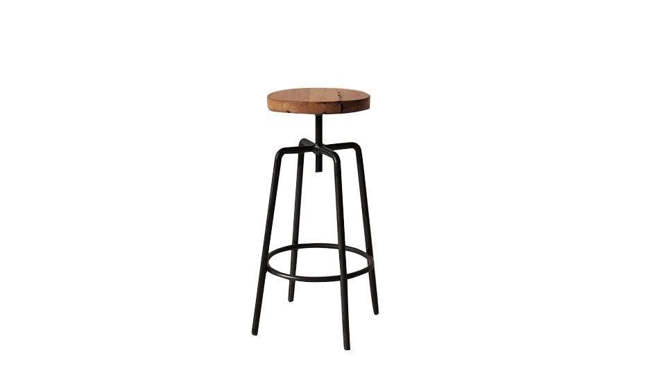 MONOQI | Barhocker - Holz/Eisen | kitchen | Pinterest | Barhocker ...