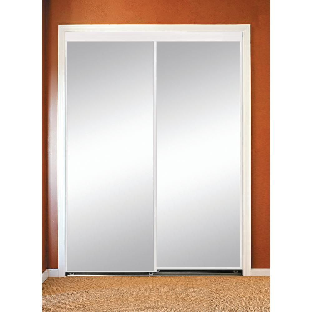 Sliding mirror closet doors 36 x 80 closet light fixtures for Sliding glass doors 96 x 96