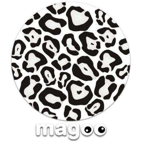 Magoo 148 Funky Snow Leopard Print Magnetic Car Tax Disc