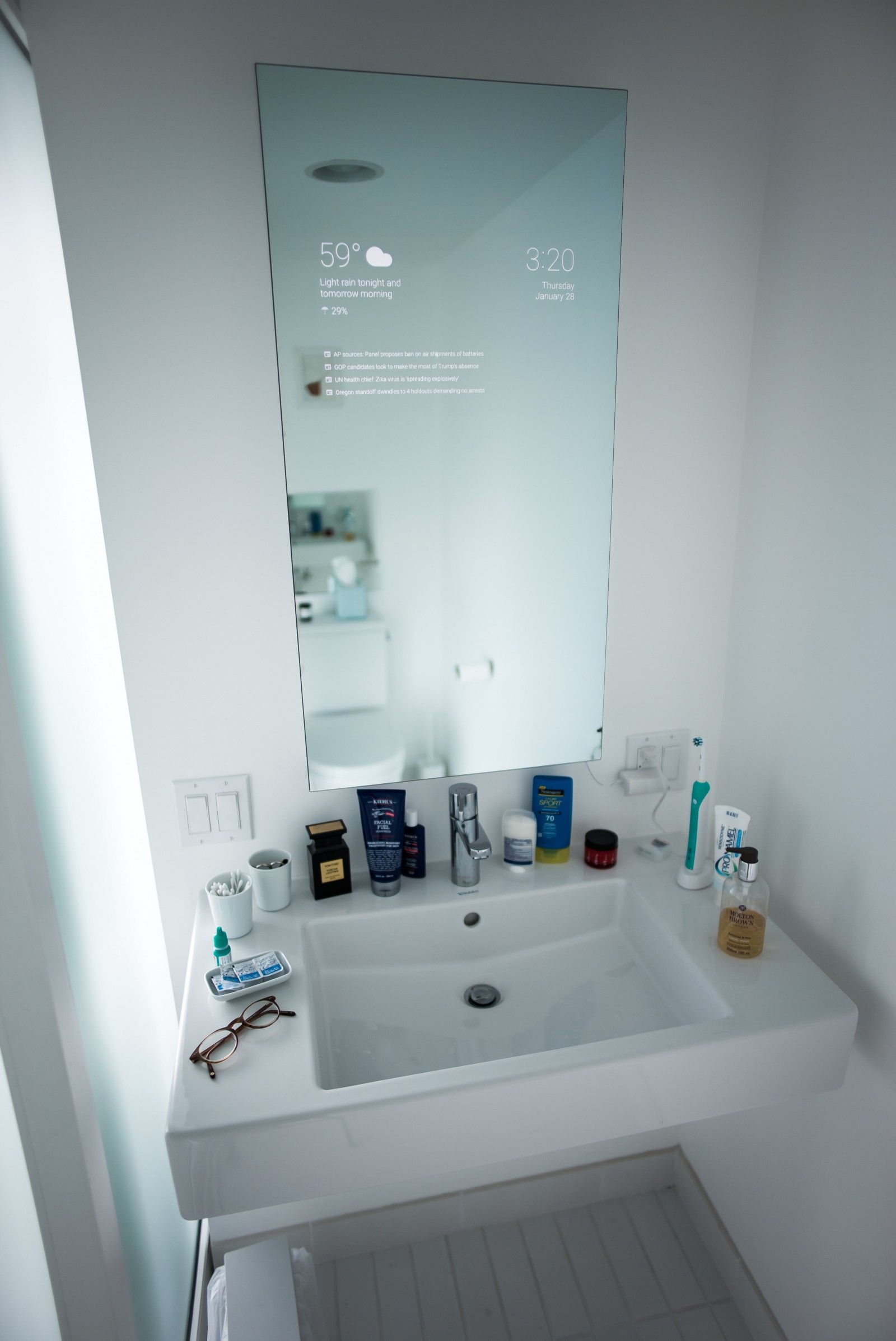 My Bathroom Mirror Is Smarter Than Yours | Cool Stuff | Pinterest ...